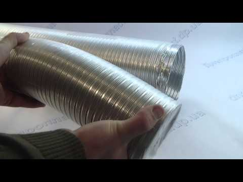 Гофрированный воздуховод L=3  D=100мм 247415