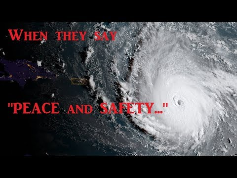Fire, Floods, Hurricanes, War & Mid-East Peace Talks at the same time - Coincidence?