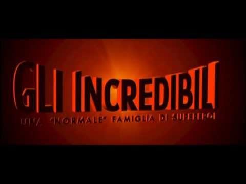 Gli Incredibili Trailer ita