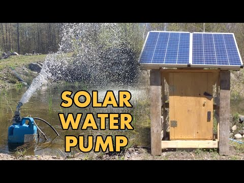 Two Simple SOLAR Powered IRRIGATION Systems We Use For Our Off Grid Greenhouse & Gardens