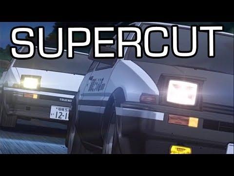 Initial D: Final Stage - AE86 vs. AE86 [SUPERCUT]