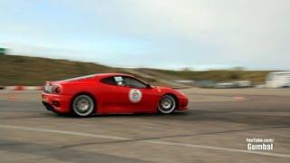 Ferrari Challenge Stradale - DRIFT Scenes!! Amazing sounds!