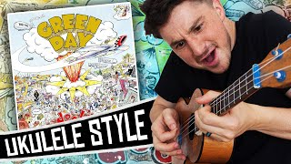 green day ukulele style  dookie full album cover