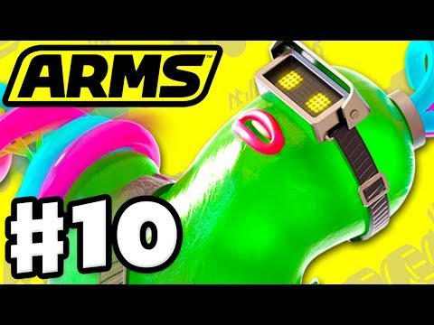 ARMS - Gameplay Walkthrough Part 10 - Helix Party Matches! (Nintendo Switch)