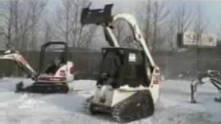 Bobcat compact track loader demo