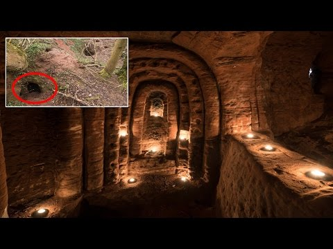 Knights Templar's Secret Temple Found In Rabbit Hole!