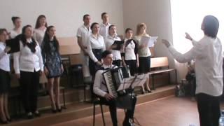 Государственный экзамен, заочное отделение. Дирижирует Виктор Воропаев
