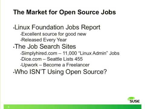 Getting a Great Job in Linux and Open Source