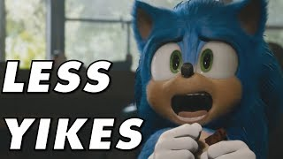 Sonic The Hedgehog New Movie Trailer - The Redesigned Sonic Is Less Ghoulish (OMGH)