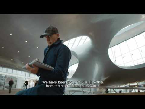 Architect Ben van Berkel talks about his Arnhem Central Station and Surface Book