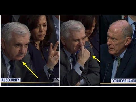 WATCH DRUNK TRUMP HATING SENATOR QUESTIONS CIA & NSA DIRECTORS GETS BUSTED BIG TIME!