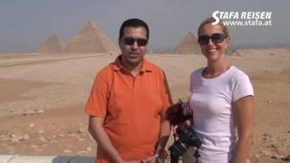STAFA REISEN Video: Kairo und Pyramiden von Gizeh, Ägypten