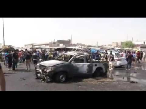 Baghdad bombs  'Tempo and violence has increased'
