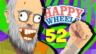 МОЙ ДЕДУШКА СПАС МЕНЯ!! - Happy Wheels 52