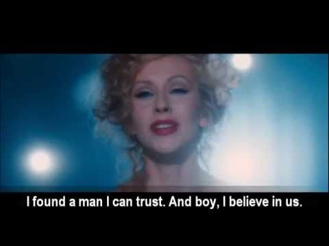Christina Aguilera - Bound To You video with lyrics - YouTube