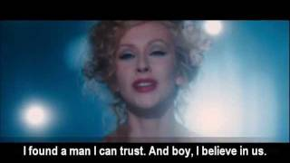 Christina Aguilera - Bound To You video with lyrics