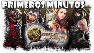 Continent Of The Ninth Seal C9 Gameplay | Primeros Minutos | MMOrpg Free To Play Action Combat