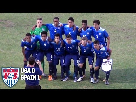 U-19 MNT vs. Spain: Highlights - Feb. 2, 2016
