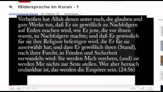 """RE: Widersprüche im Koran """"UnsichtbarerGeist"""" - widerlegt Teil 2"""