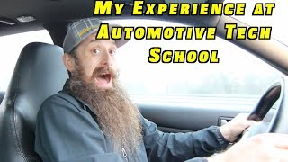 My Experience at Automotive Tech School
