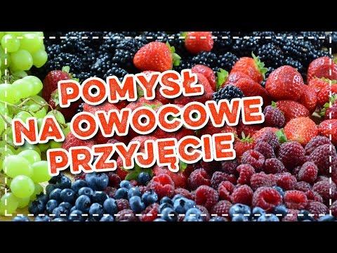 Sposób Na Owocowe Przyjęcie Owocowa Dekoracja Youtube