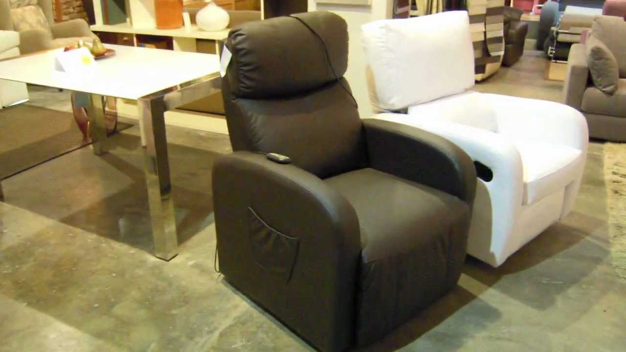 Sillones relax y descanso abatible y reclinable - YouTube