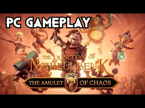 The Dungeon Of Naheulbeuk: The Amulet Of Chaos Gameplay PC 1080p |