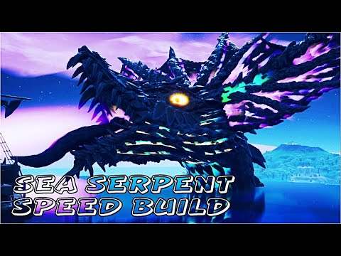 Sea Serpent Speed Build | Fortnite Creative Tutorial (Fortnite Battle Royale)