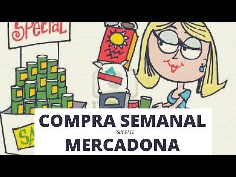 compra semanal 29/08 MERCADONA