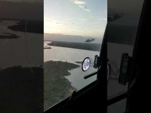 Fly in to autec Bahamas