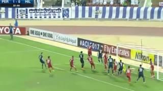 أهداف مباراة بیرسبولیس والهلال السعودي 1 1 دوري ابطال اسيا تعليق فهد العتيبي 21 2 2017 HD   YouTube