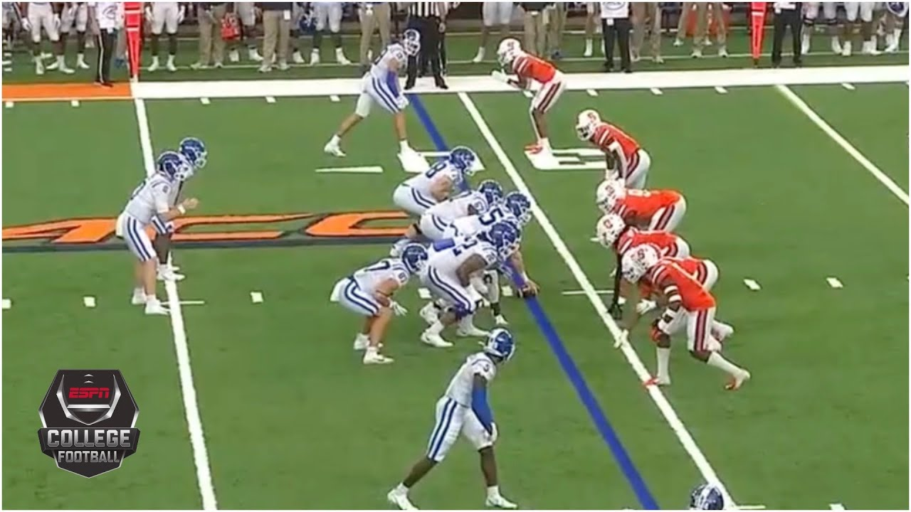 Duke Blue Devils vs. Syracuse Orange   2020 College Football Highlights