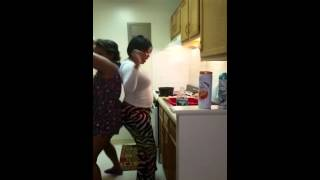 My daughter and I call ourselves twerking while cooking Christmas dinner