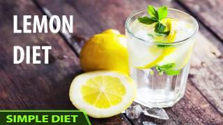 Simple Diet - How I Lost 22 Pounds With This Weird Lemon Diet in Just 2 Weeks