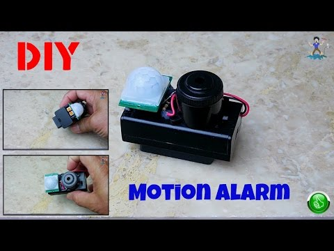 How To Make A Portable Motion Detecting Alarm(PIR)