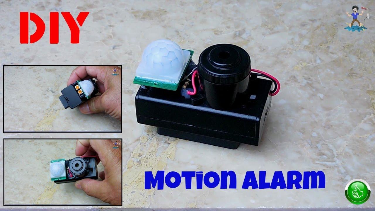 Bon DIY Portable Motion Detecting Alarm(PIR)   YouTube