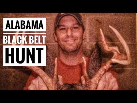Deer Hunting In Alabama Black Belt 2015 | Alabama Deer Hunting During The Rut | Bent Creek Lodge