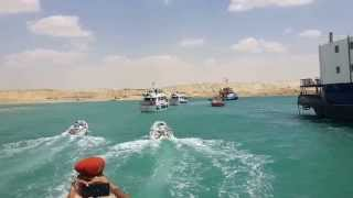 New Suez Canal: See Ibnhar and UAE Minister of State Sultan Al Jaber what he saw