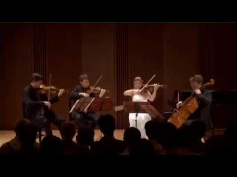 Beethoven string quartet C major op. 59/3 Razumovsky. III. Menuetto grazioso, IV. Allegro molto