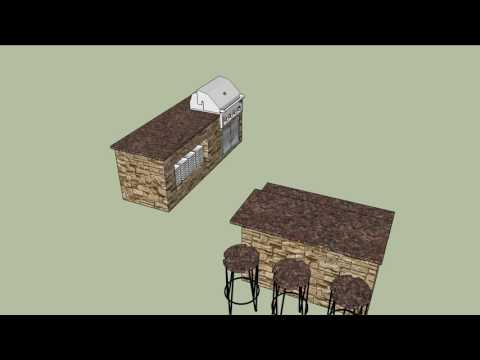 Conceptual Outdoor Kitchen Design-Mustang,Ok