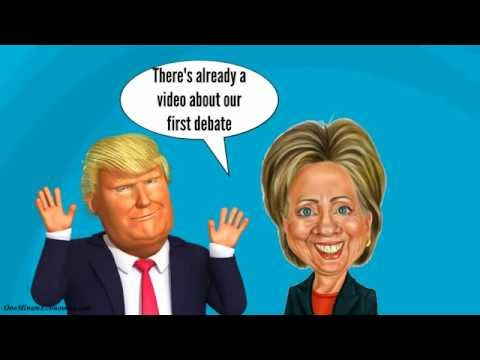 The Economics Behind the Second Hillary Clinton - Donald Trump Debate Explained in One Minute