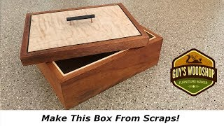 Make This Simple Box - Basic Woodworking How To