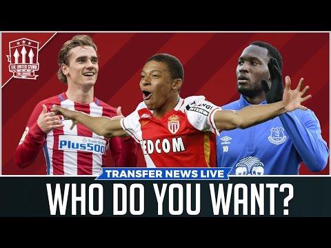 Griezmann, Lukaku, Mbappé | MAN UTD TRANSFER NEWS