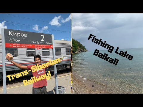 Fishing And Traveling The TRANS-SIBERIAN RAILWAY!