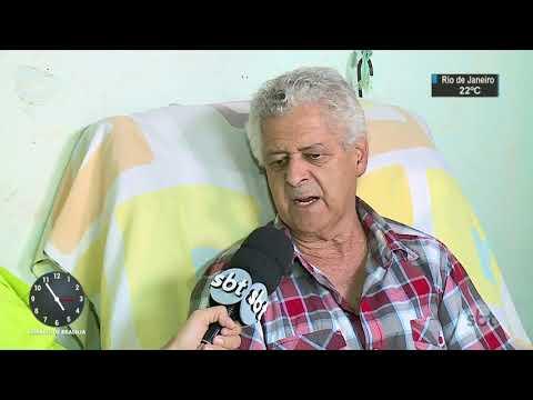 Paciente com câncer aguarda tratamento em fila com mais de mil pessoas   SBT Notícias (16/08/17)