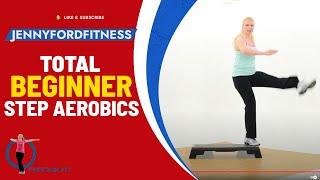 Beginner Step Aerobics Fitness Cardio -- JENNY FORD