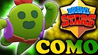 BRAWL STARS- CONSEGUI O SPIKE!! MUITO SHOW!!