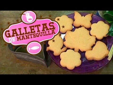 Cómo hacer galletas de mantequilla ¡Fáciles y rápidas!