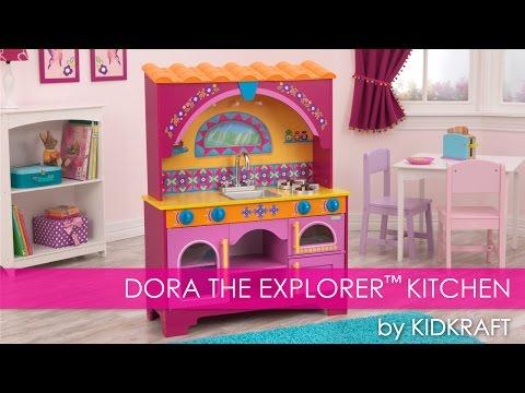 Dora The Explorer™ Children's Play Kitchen - Toy Review