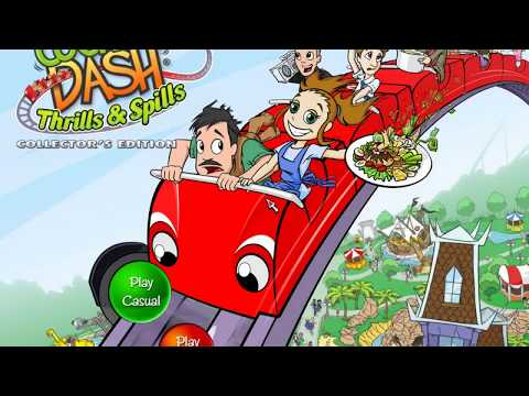 Cooking Dash 3: Thrills And Spills Gameplay Part 2 / Log Jam